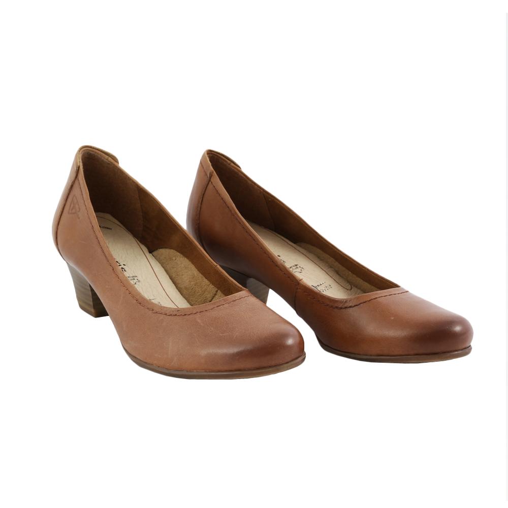 Dámské boty Tamaris 1-22302-20 Nut Kůže