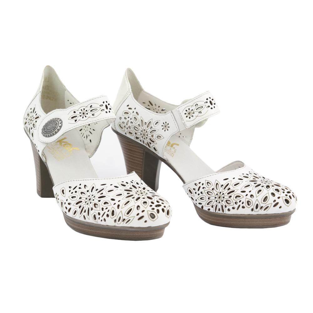 Dámské boty Rieker 47356-80 Bílá Kůže   Tascchi-Botti  c76ee2b1ece