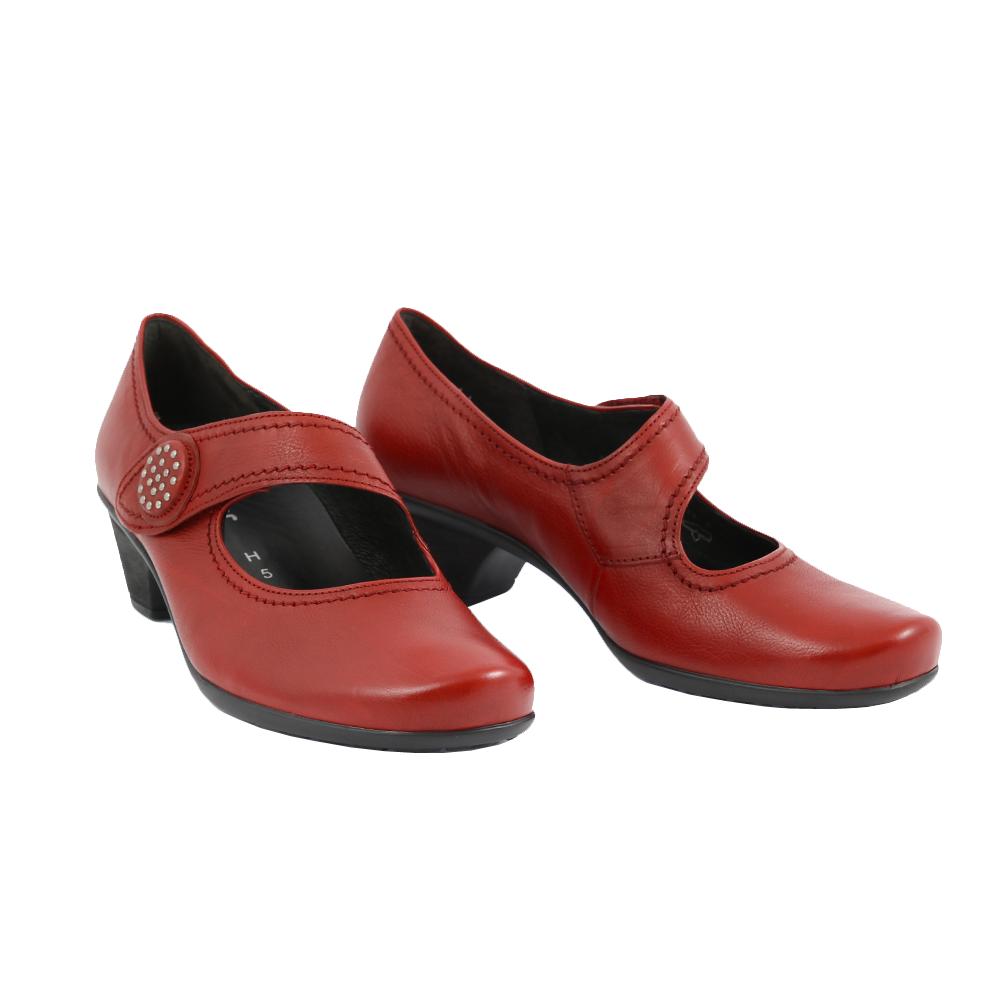 Dámské boty Gabor 76.139.63 Červená Kůže