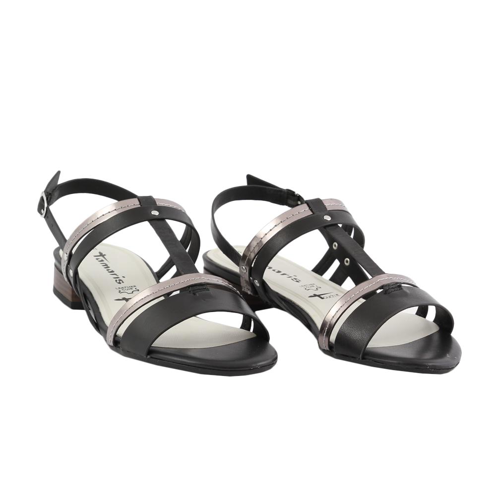 Dámské boty Tamaris 1-28179-32 black comb Kůže