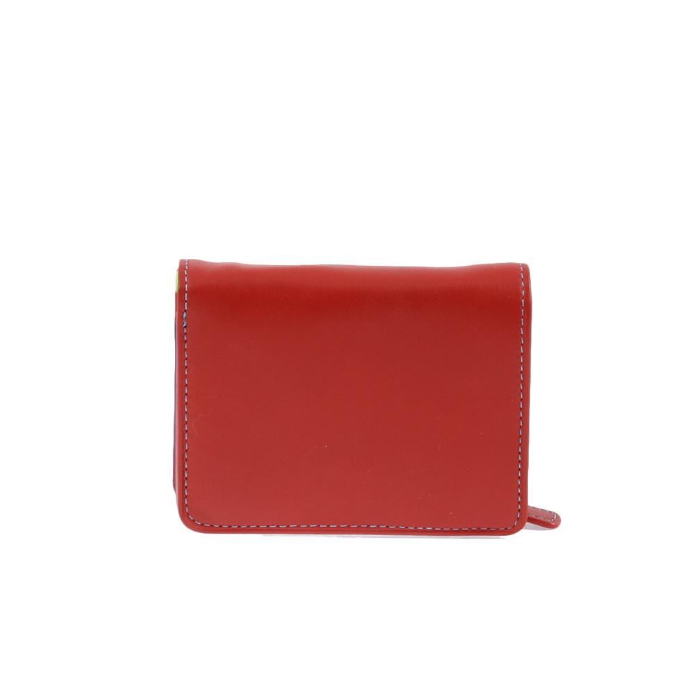Peněženka Cono colorato Červená Kůže