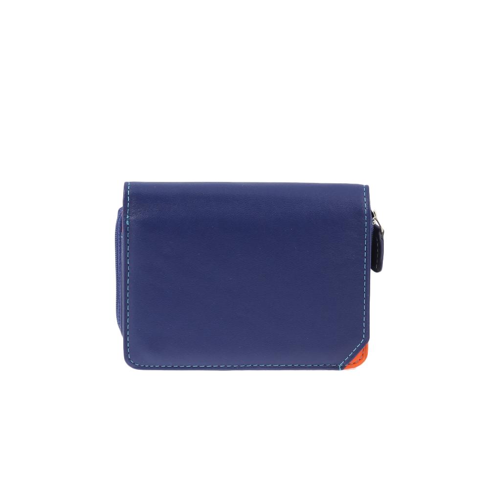 Peněženka ML 8305 Modrá Kůže