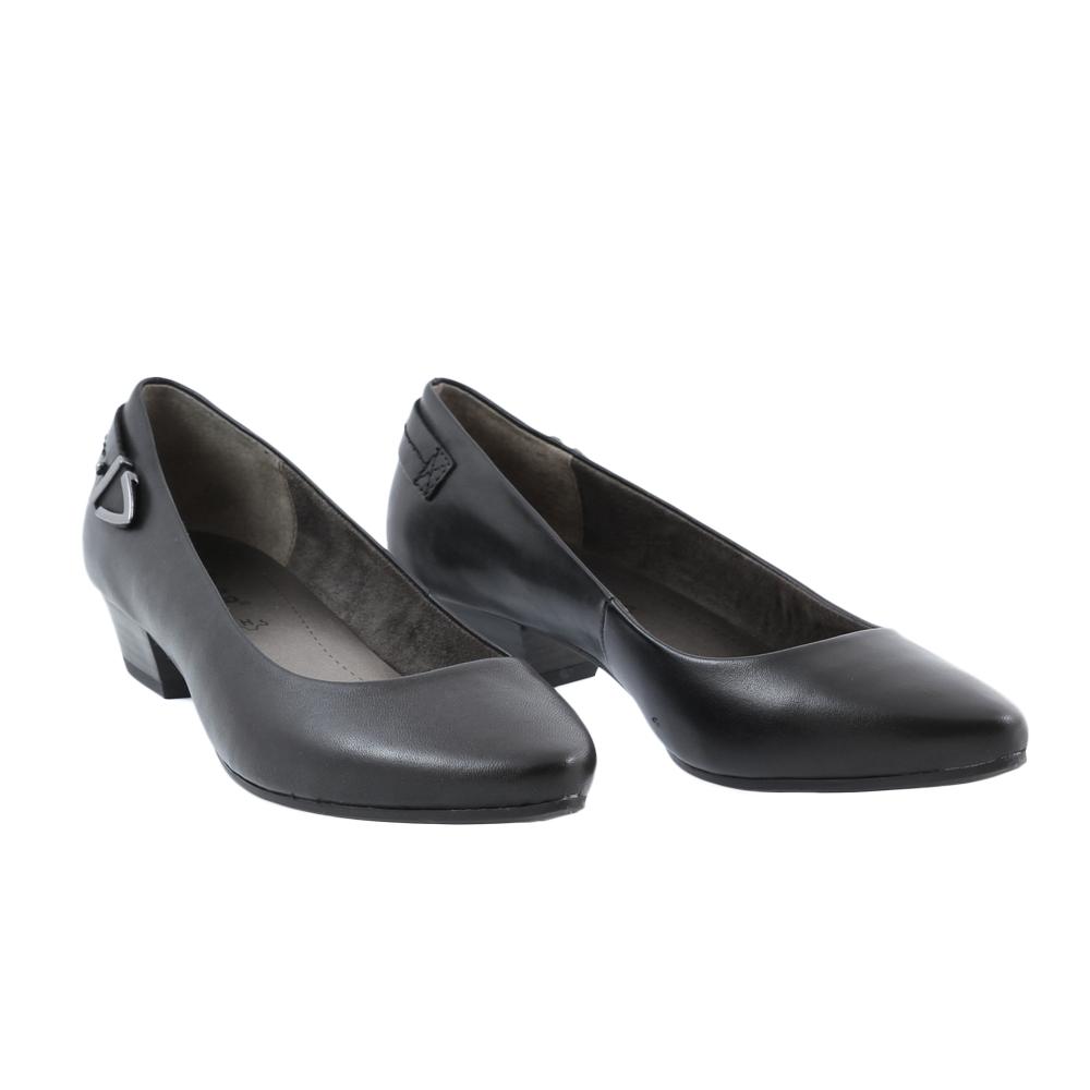 Dámské boty Jana 8-22201-23 Černá Kůže