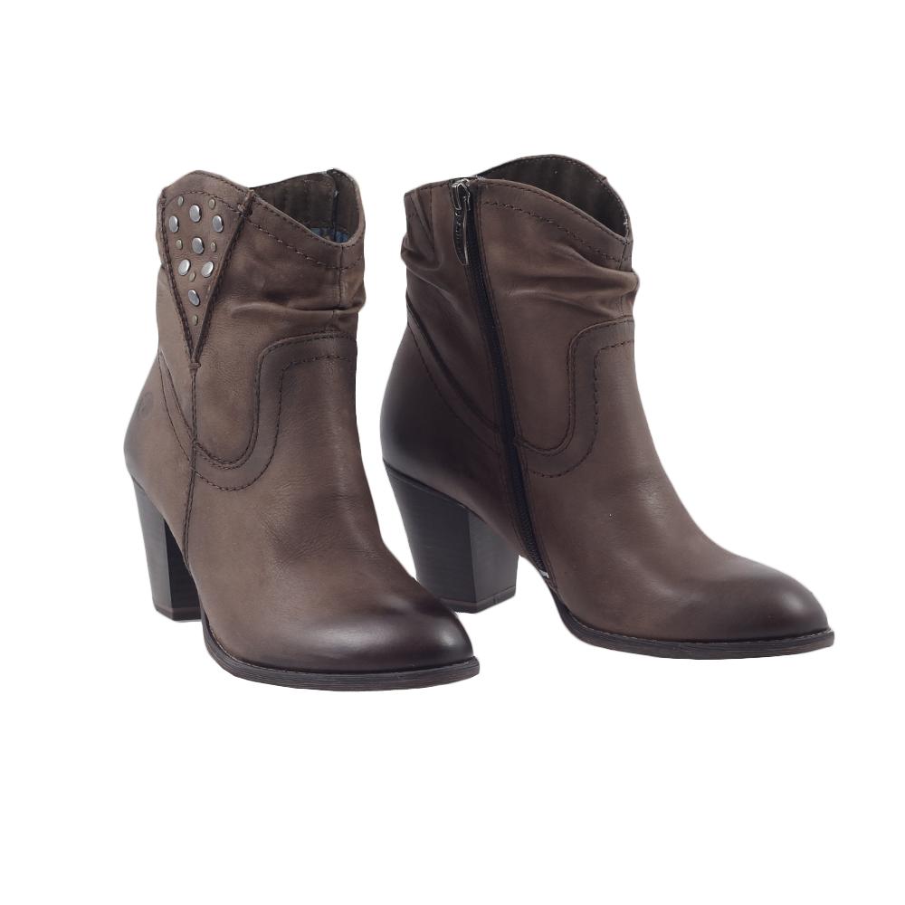 Dámské boty Tamaris 1-25311-21 Mocca Kůže