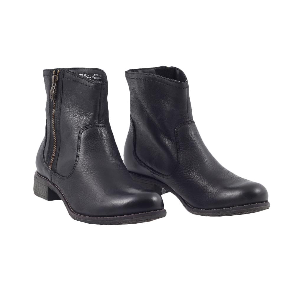 Dámské boty Tamaris 1-25411-21 Černá Kůže