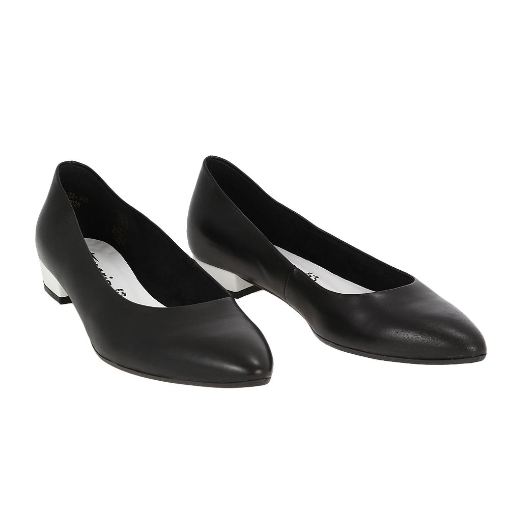 Dámské boty Tamaris 1-22205-22 black comb Kůže