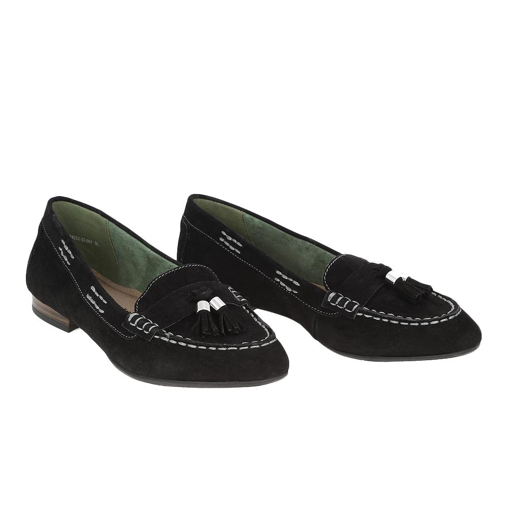 Dámské boty Tamaris 1-24222-32 Černá Kůže