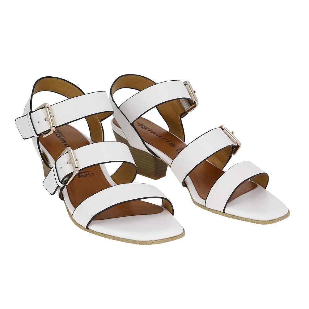 Dámské boty Tamaris 1-28345-24 Bílá Kůže