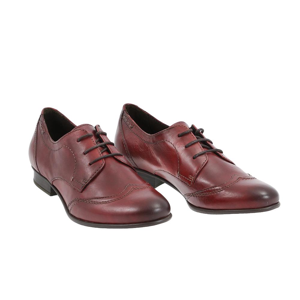 Dámské boty Tamaris 1-23203-25 Scarlet Kůže