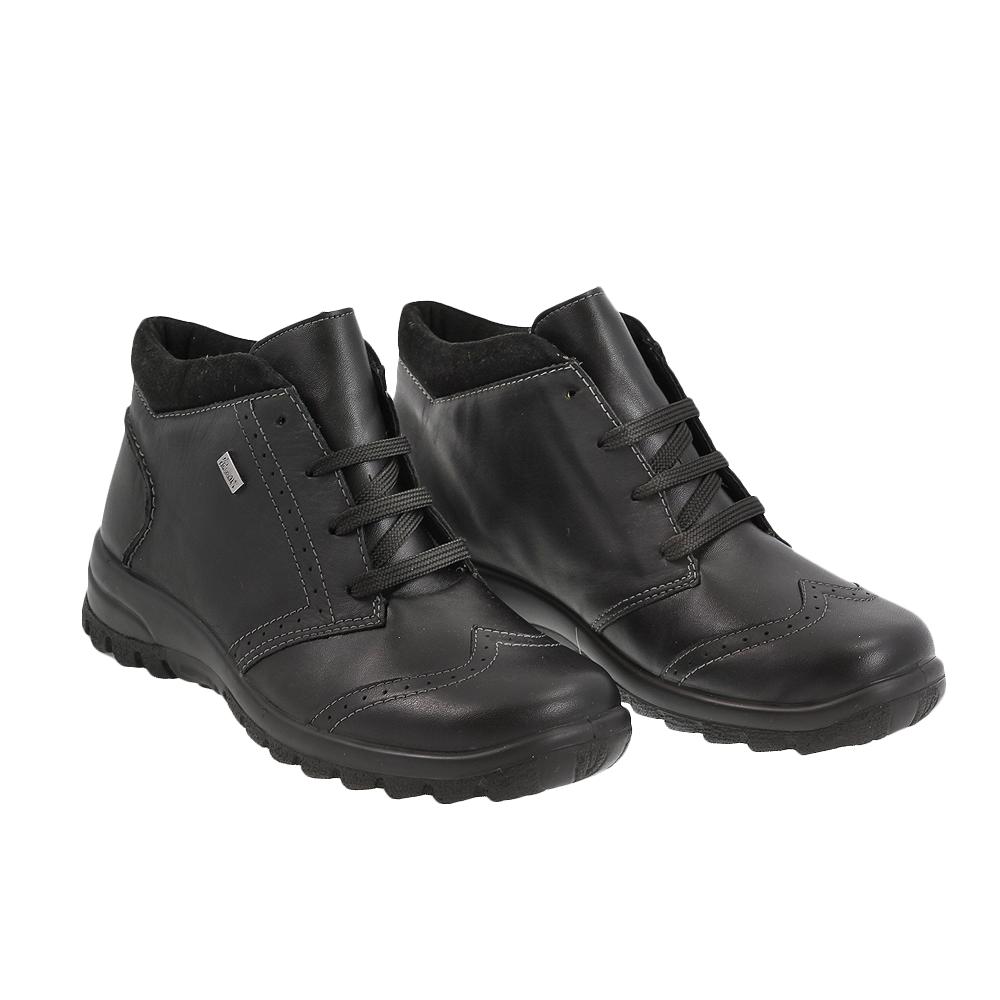 Dámské boty Rieker L7141-01 Černá kůže/syntetika
