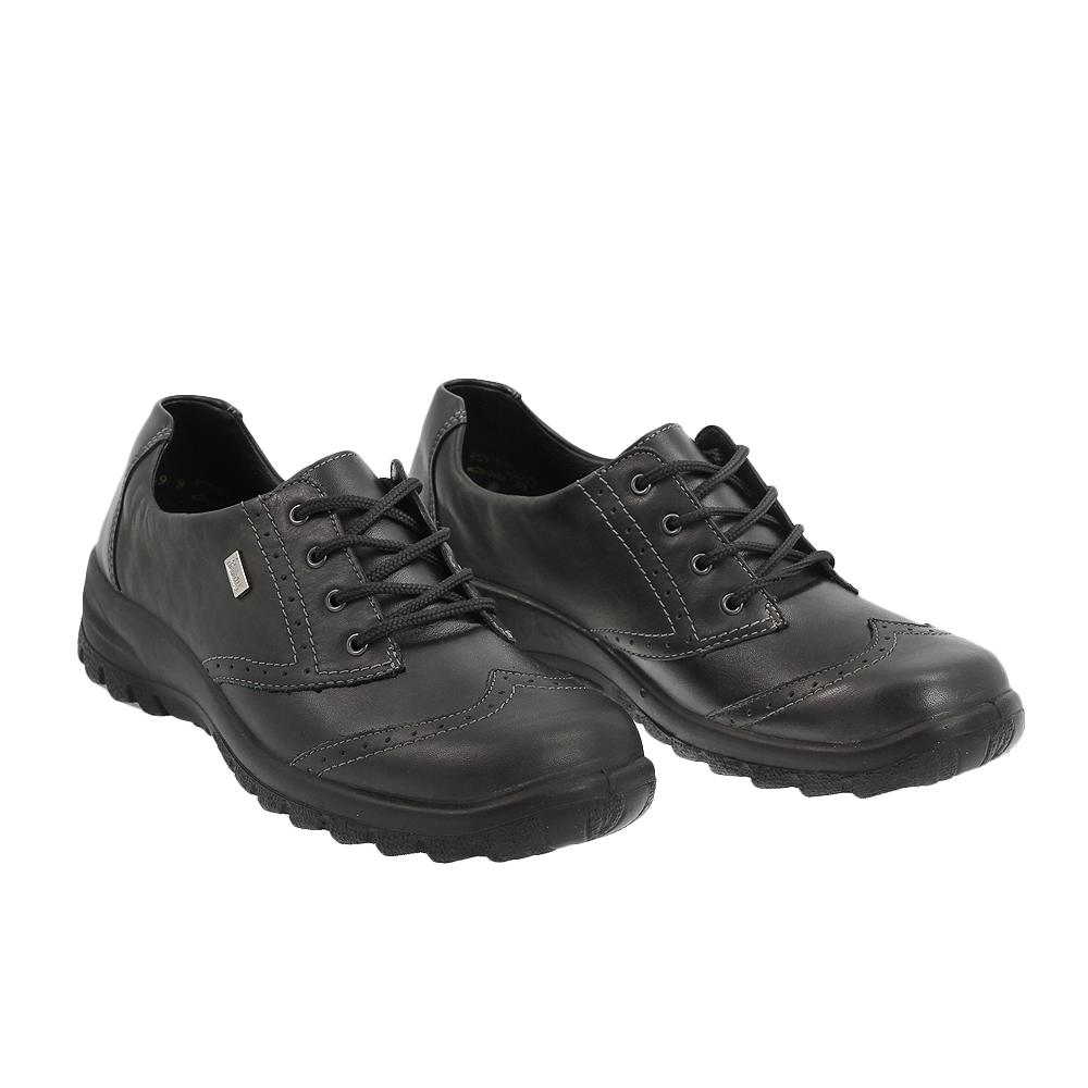 Dámské boty Rieker L71224-01 Černá kůže/syntetika
