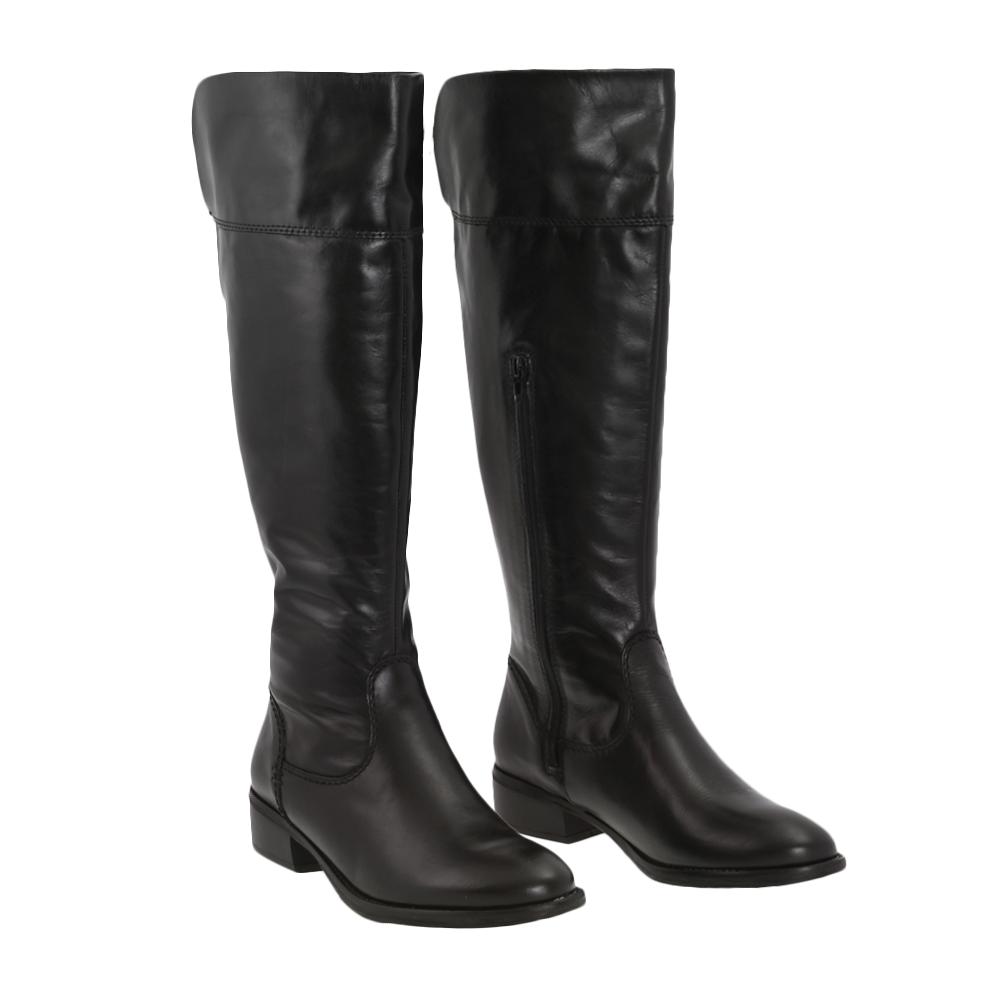 Dámské boty Tamaris 1-25569-23 Černá Kůže