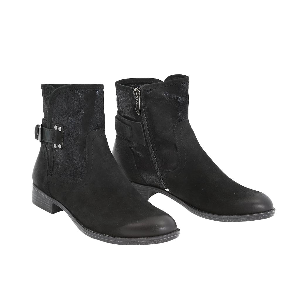 Dámské boty Tamaris 1-25306-25 Černá Kůže