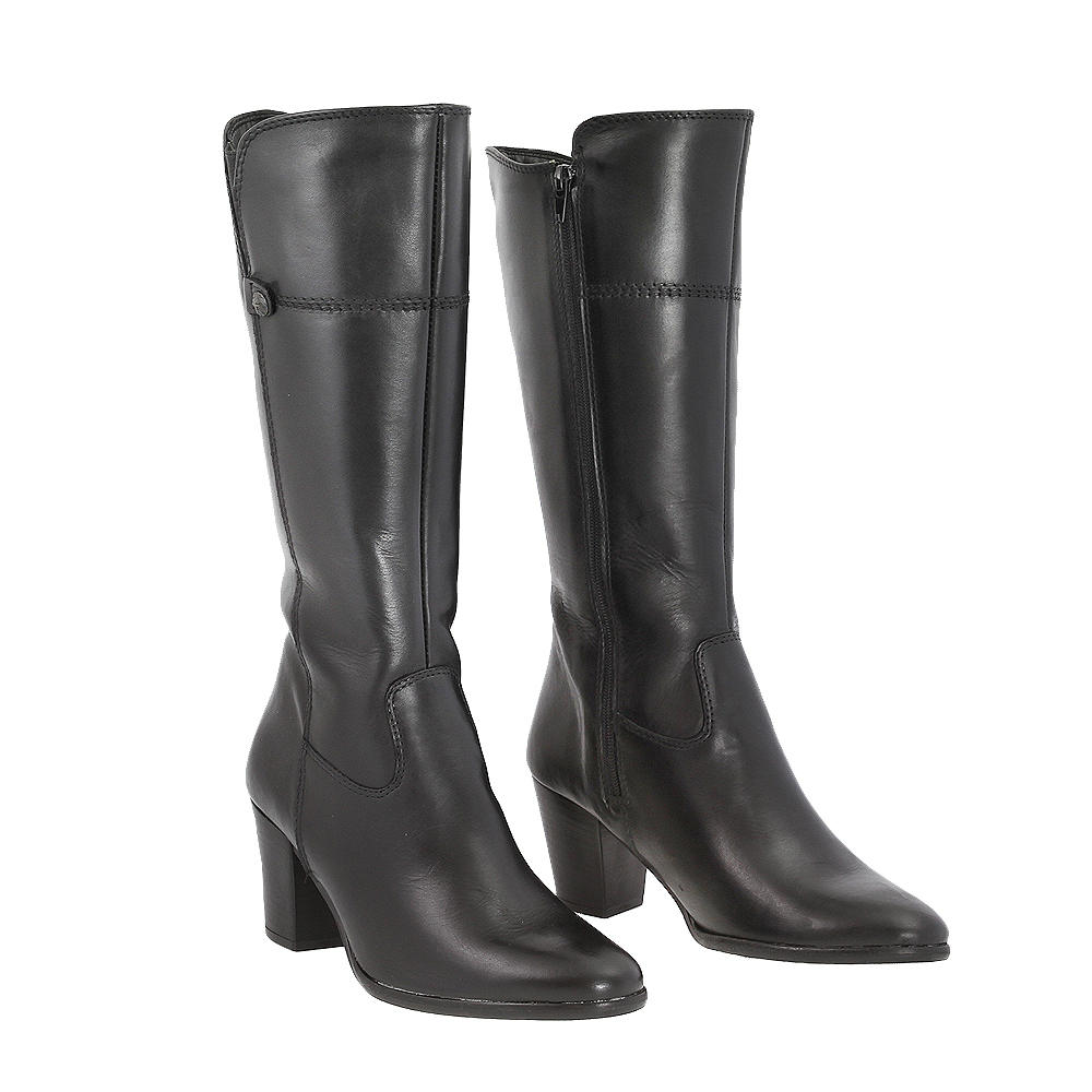 Dámské boty Tamaris 1-25562-25 Černá Kůže