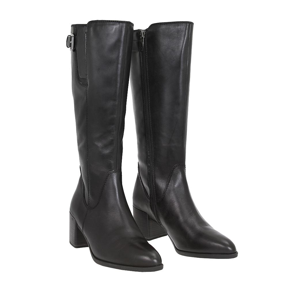 Dámské boty Tamaris 1-25524-25 Černá Kůže