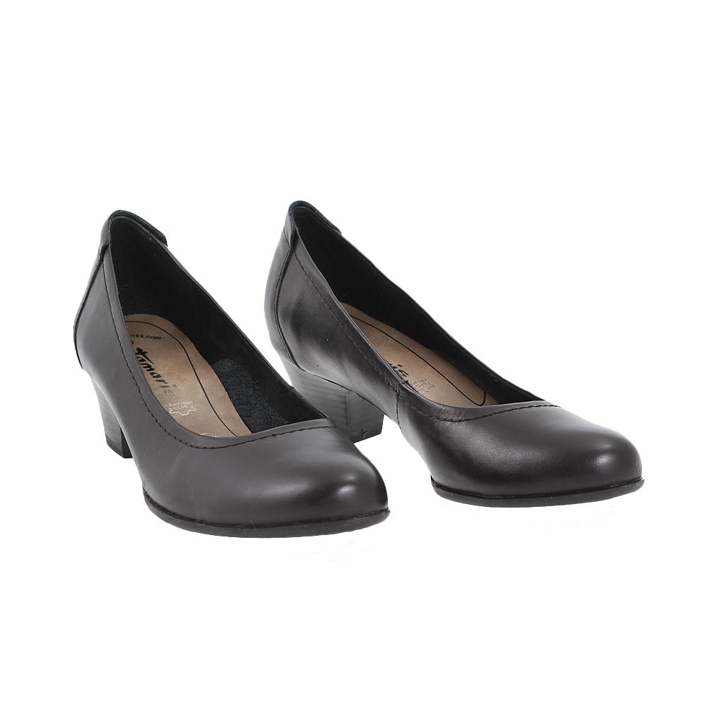 Dámské boty Tamaris 1-22302-26 Černá Kůže