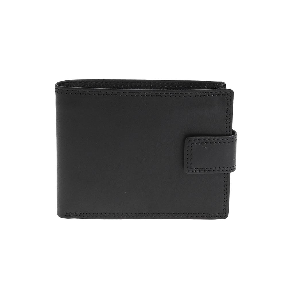 Peněženka OP- 8252 Černá Kůže