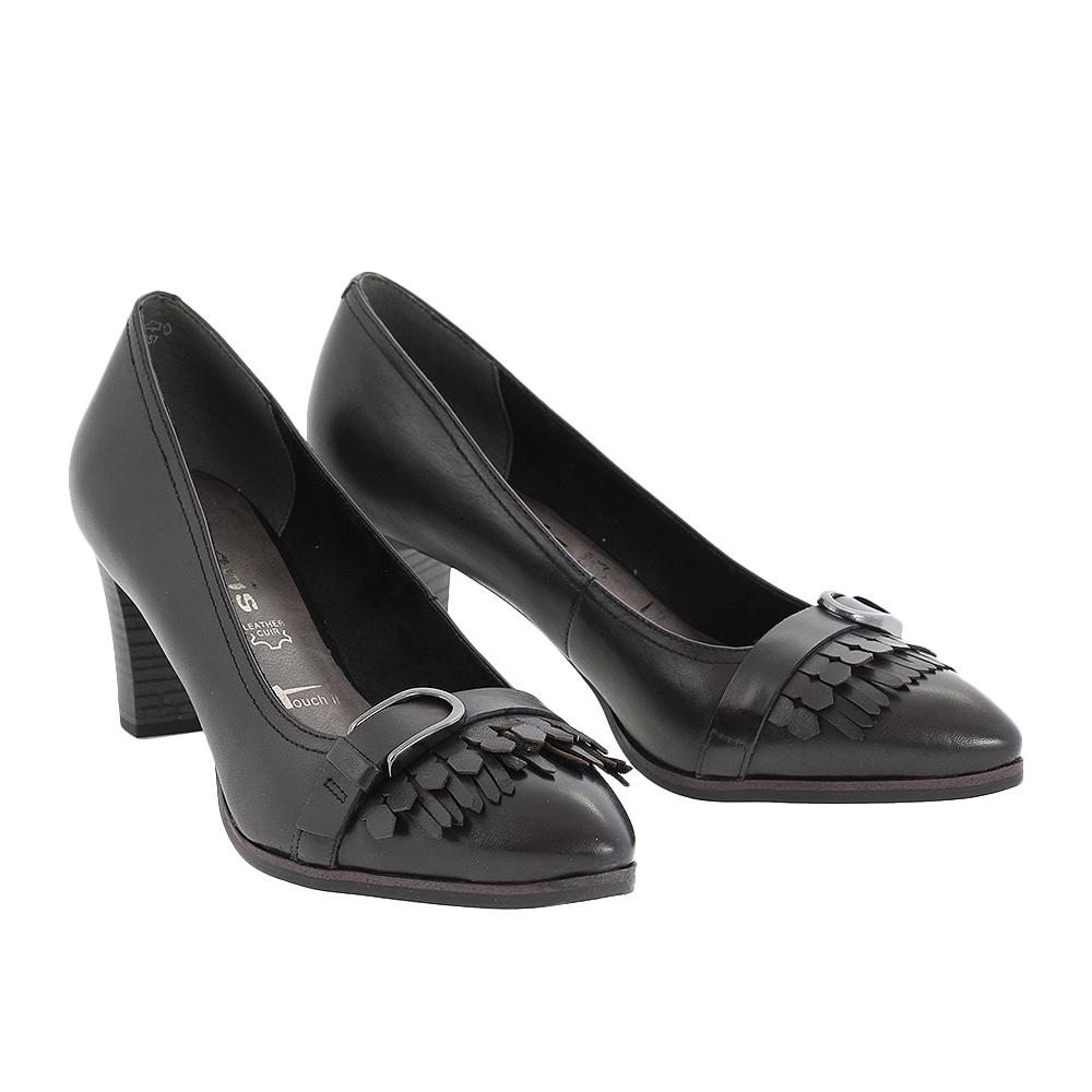 Dámské boty Tamaris 1-24408-27 Černá Kůže