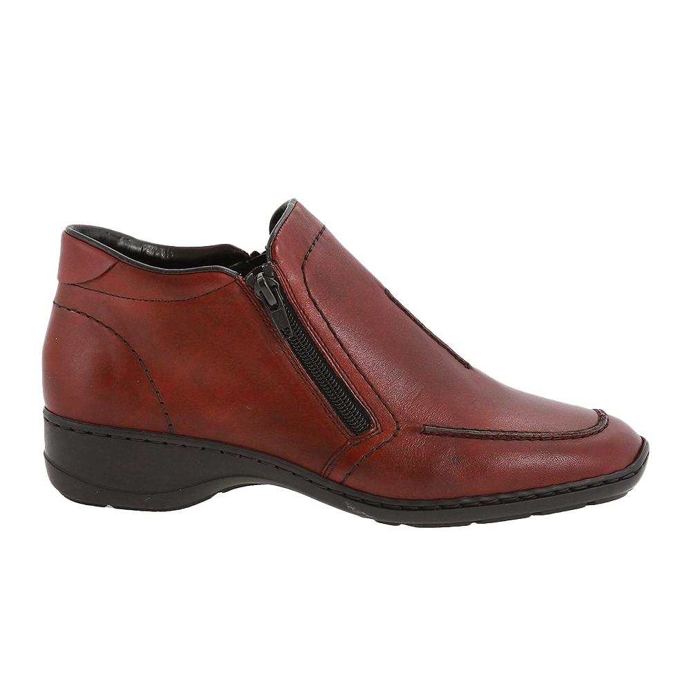 Dámské boty Rieker 58386-35 Červená Kůže   Tascchi-Botti  f6c4769658