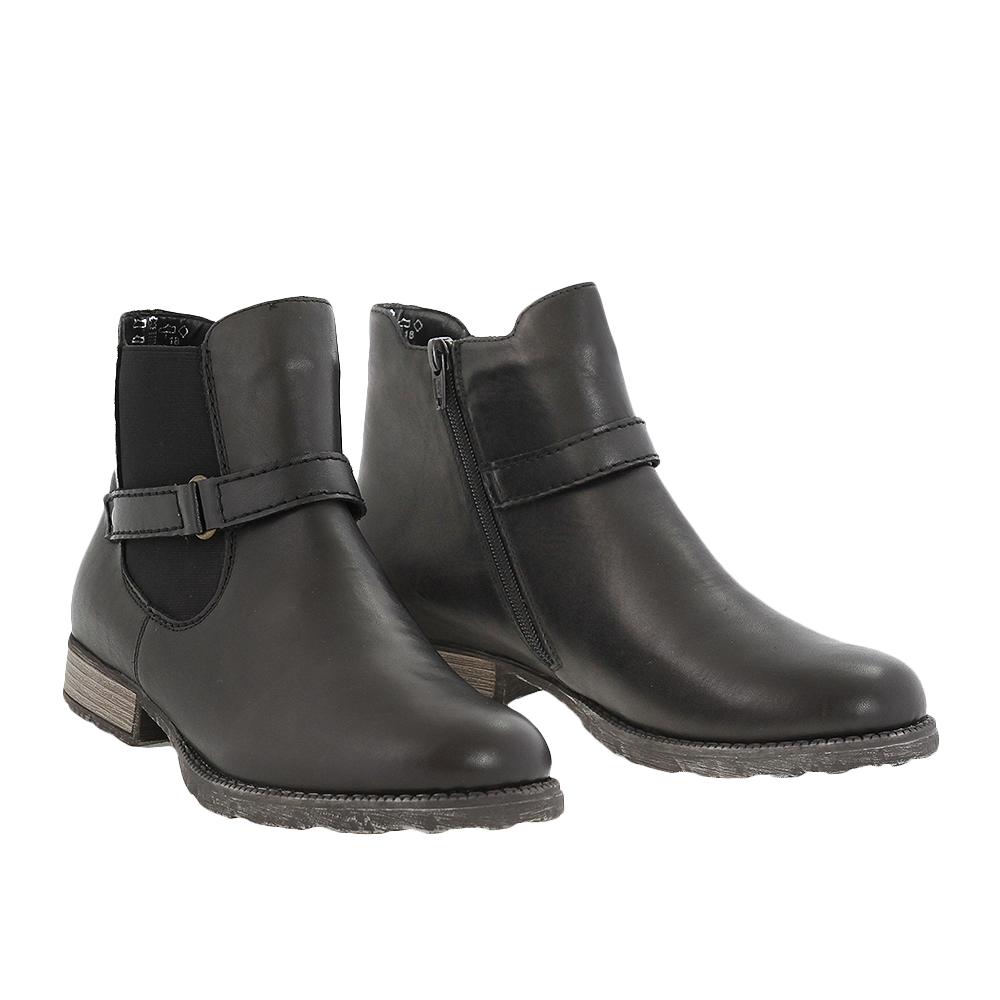 Dámské boty Rieker Z9262 Černá Kůže