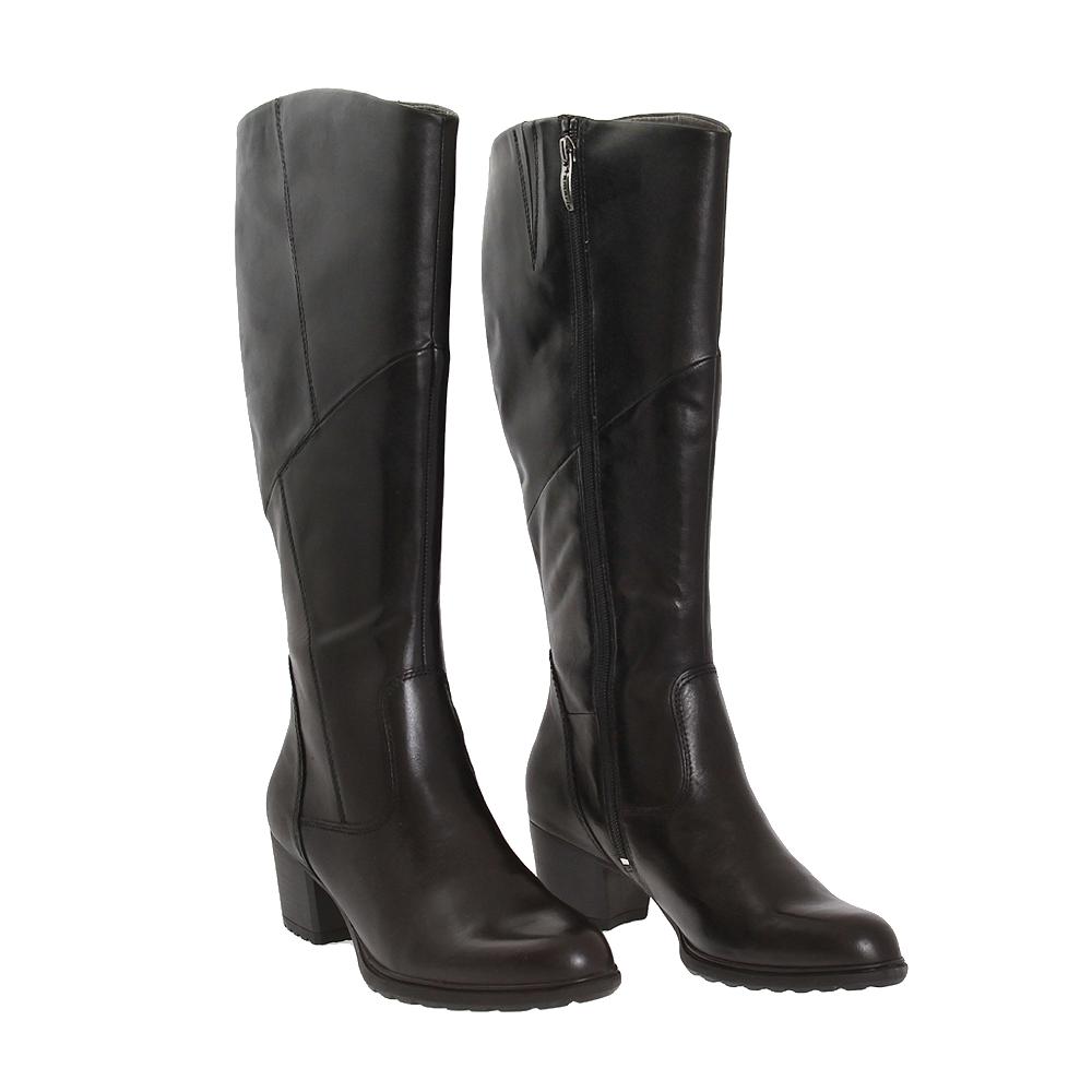 Dámské boty Tamaris 1-25538-27 Černá Kůže