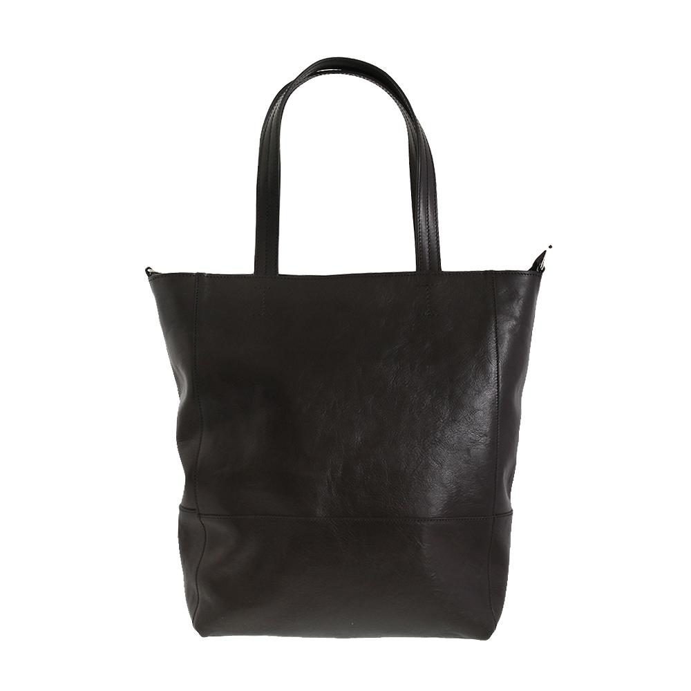 Italská kabelka Filippa grande Černá Kůže
