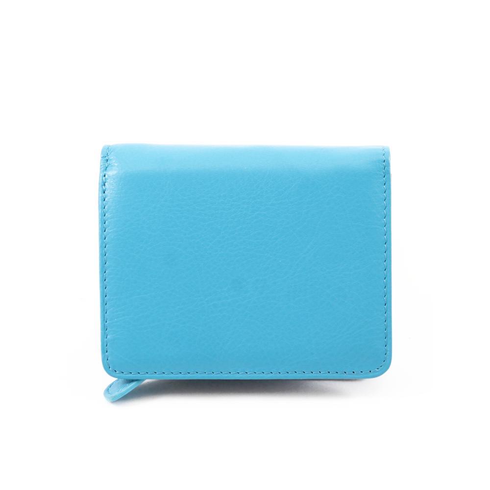Peněženka Cono colorato Modrá Kůže