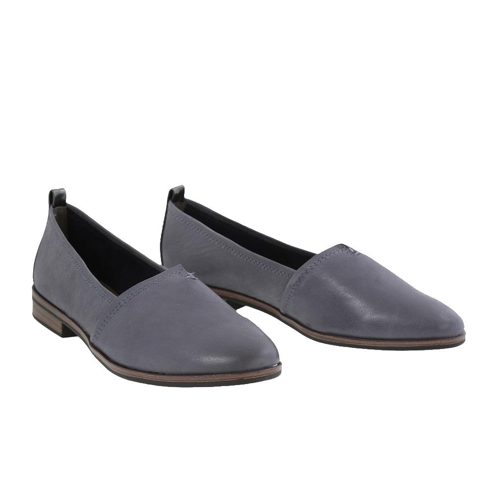 Dámské boty Tamaris 1-24205-28 Navy Kůže