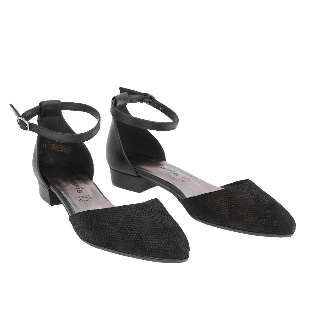 Dámské boty Tamaris 1-24227-28 Černá Kůže