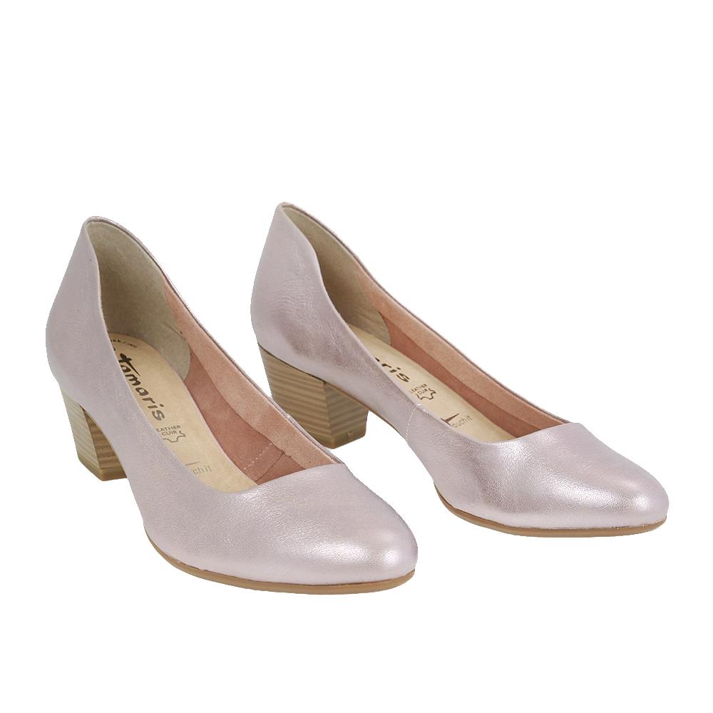 Dámské boty Tamaris 1-22302-28 metallic Kůže