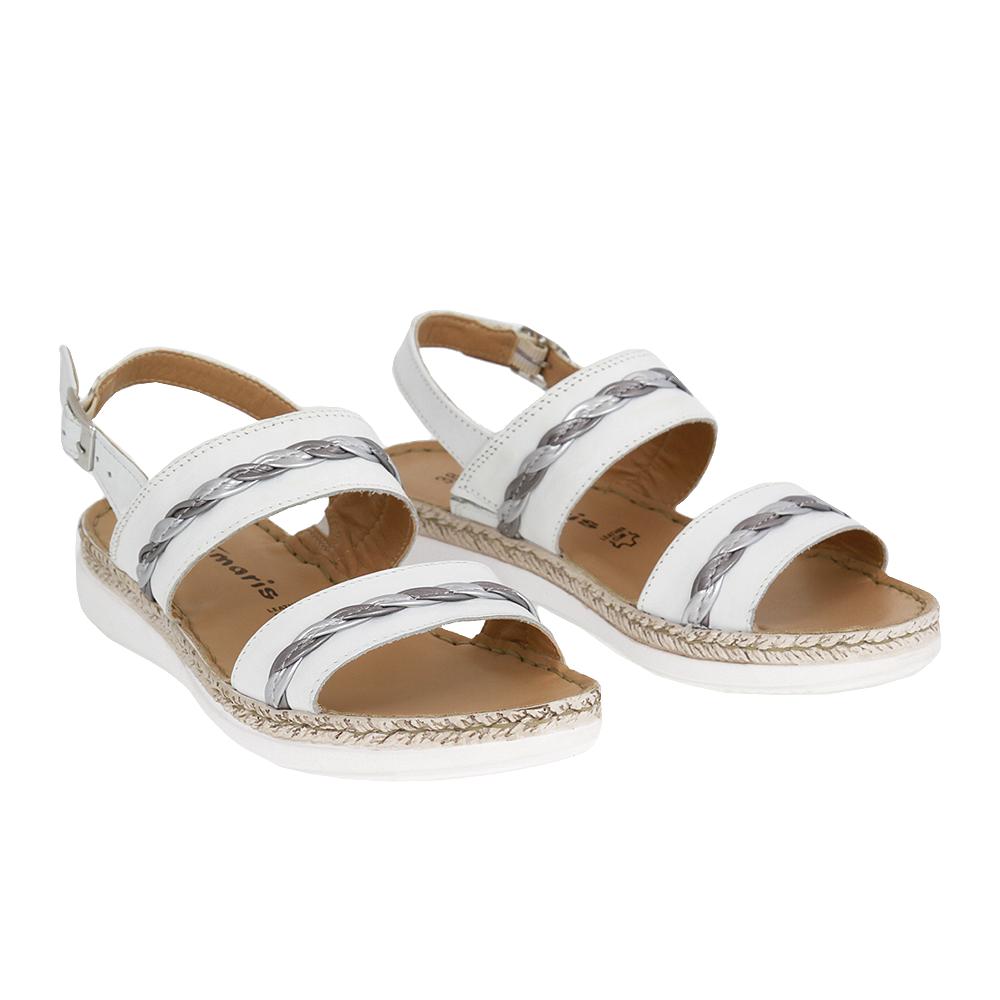 Dámské boty Tamaris 1-28212-28 Bílá Kůže
