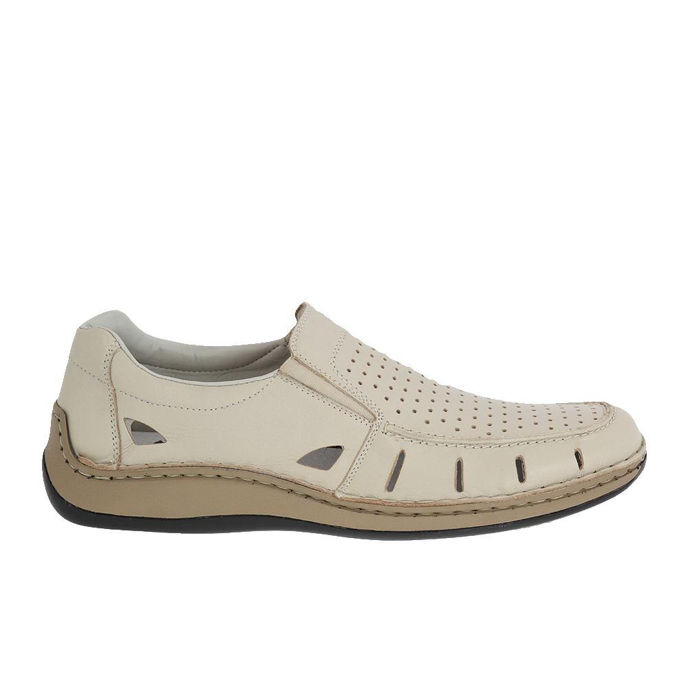 Pánské boty Rieker 05276-60 Béžová Kůže   Tascchi-Botti  076ee1c3141