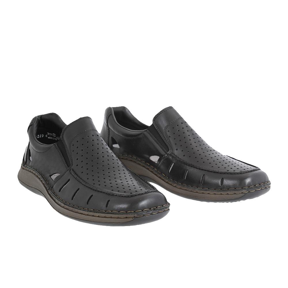 Pánské boty Rieker 05276-00 Černá Kůže