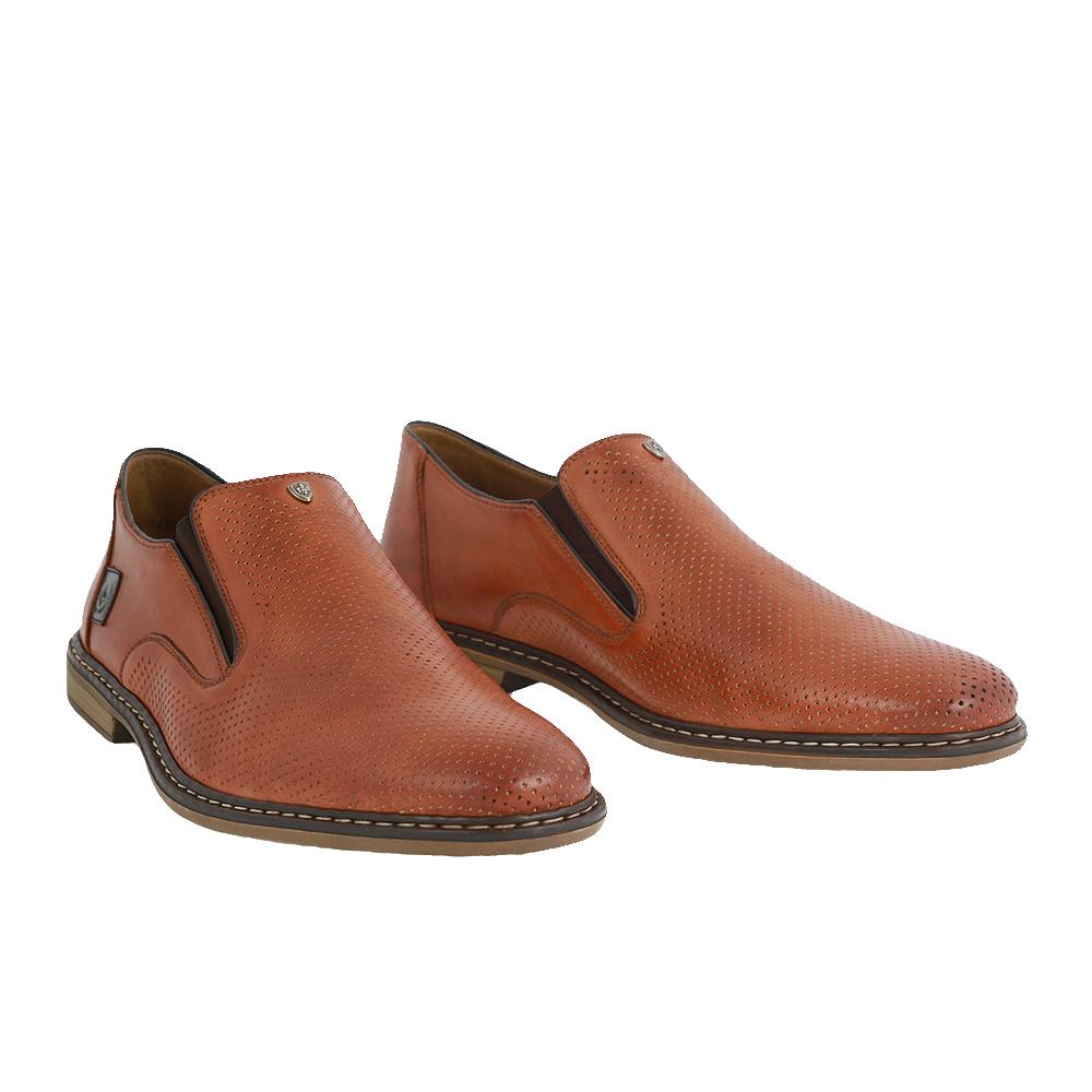 Pánské boty Rieker 13477-24 Hnědá Kůže