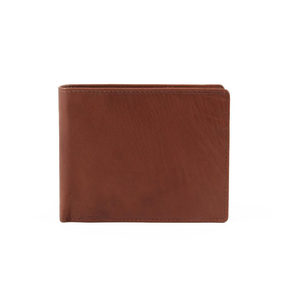 Peněženka Ermete - 4451 Hnědá Kůže