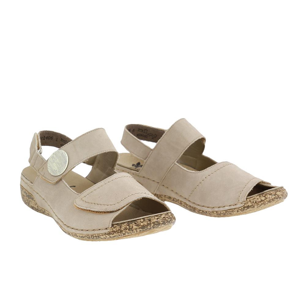 Dámské boty Rieker V7272-42 Šedá Kůže
