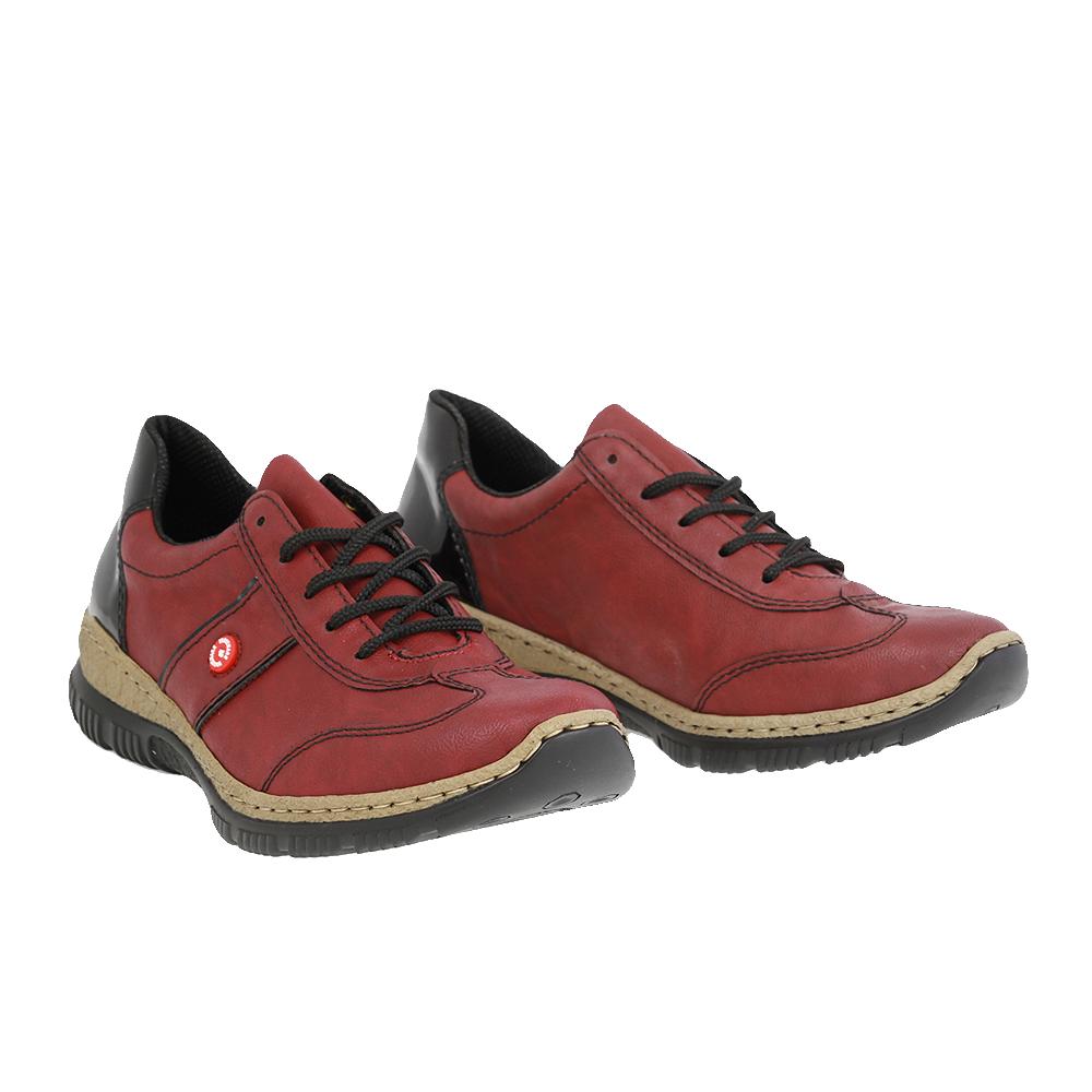Dámské boty Rieker N3220-35 Červená