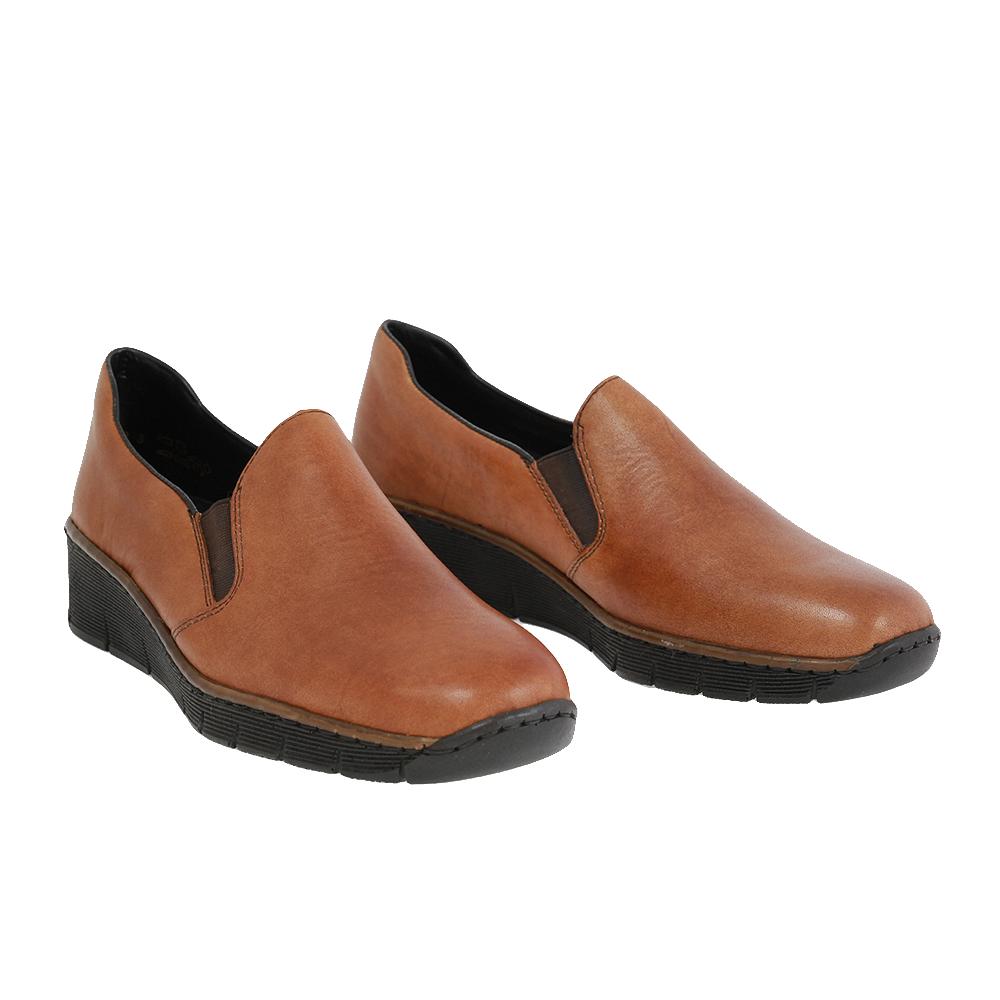 Dámské boty Rieker 53766-24 Hnědá Kůže