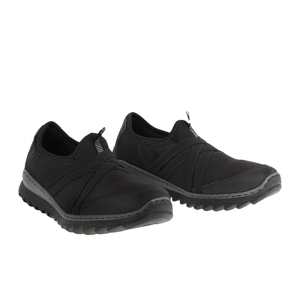 Dámské boty Rieker M6283-00 Černá Syntetika