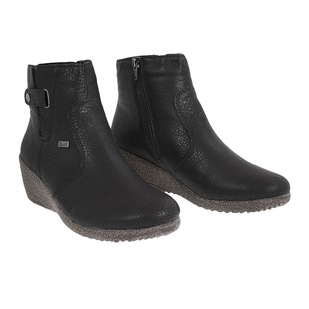 Dámské boty Rieker Y0362-00 Černá Syntetika