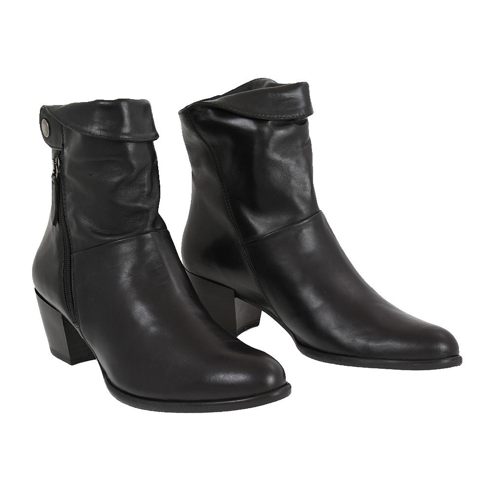 Dámské boty Tamaris 1-25326-29 Černá Kůže