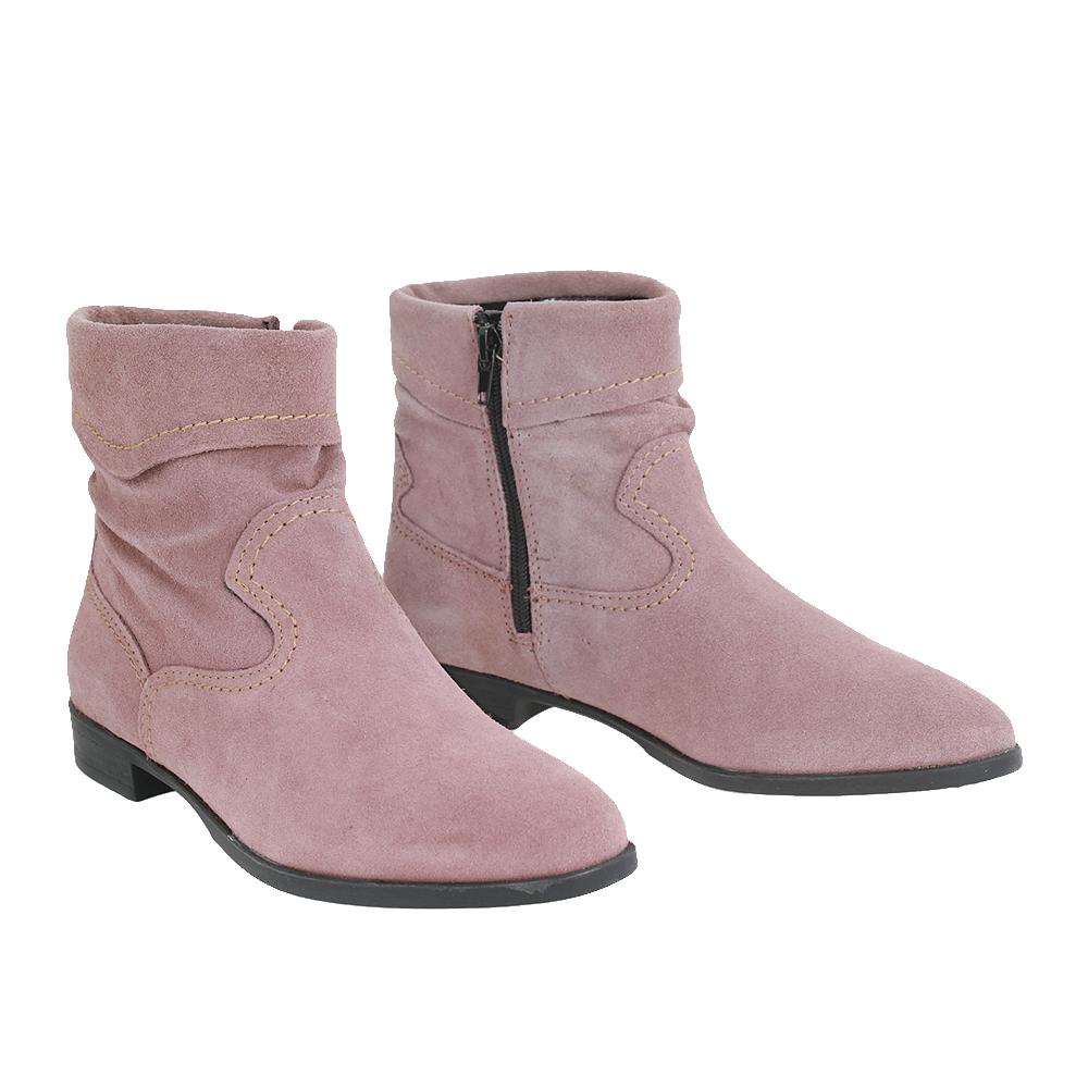 Dámské boty Tamaris 1-25005-29 Růžová Kůže