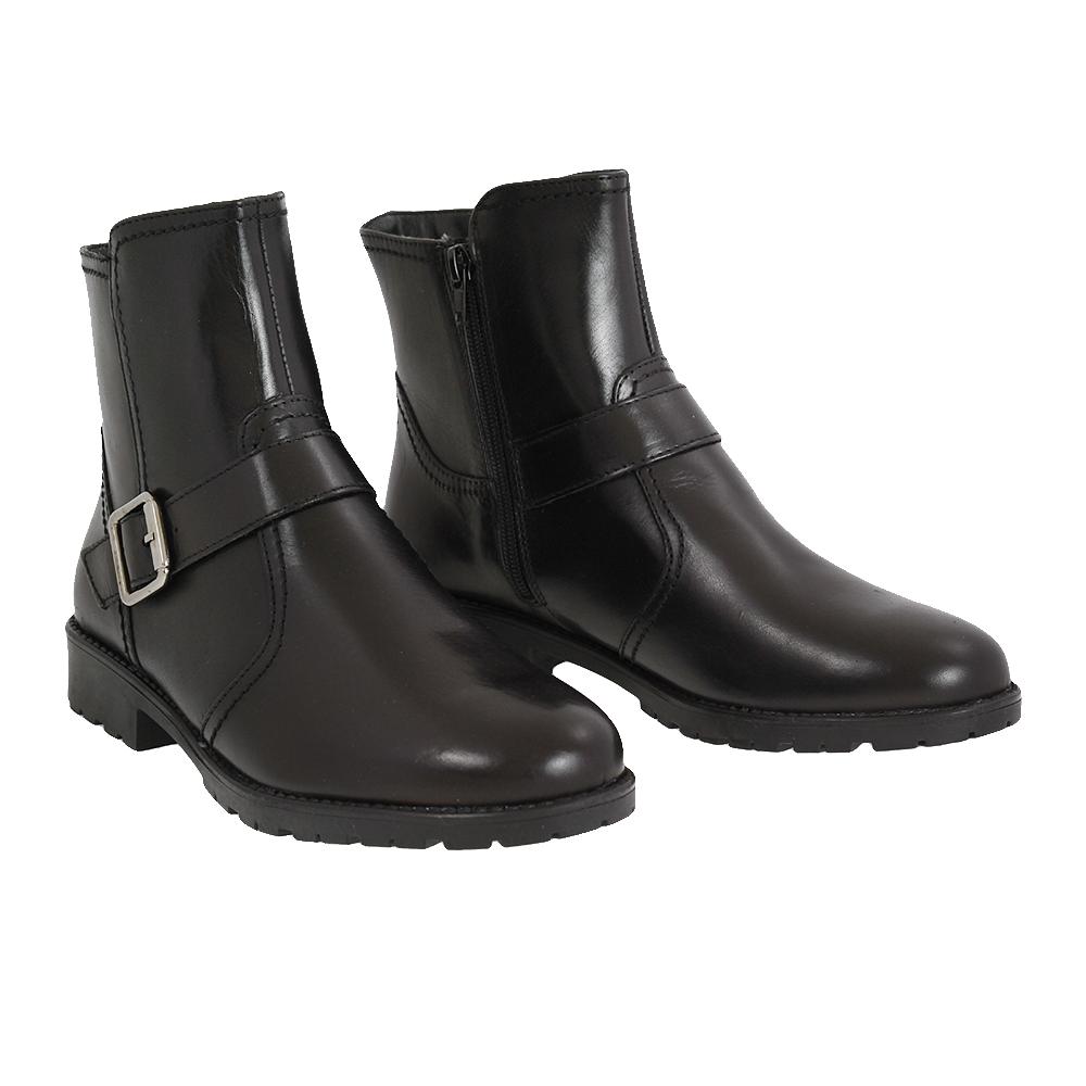 Dámské boty Tamaris 1-26042-29 Černá Kůže