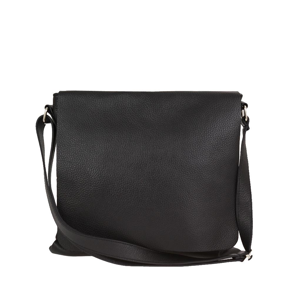 Italská kabelka Adreana classica Černá Kůže