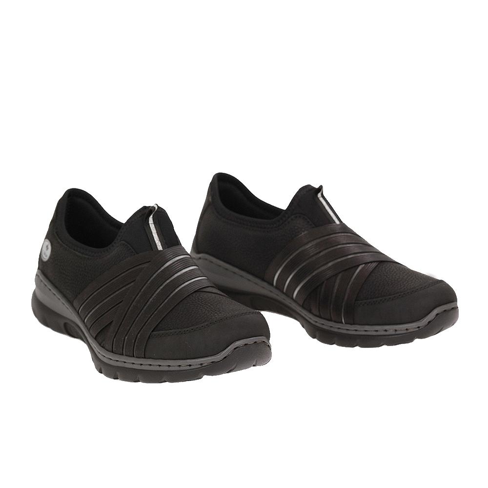 Dámské boty Rieker L32T0-00 Černá Syntetika