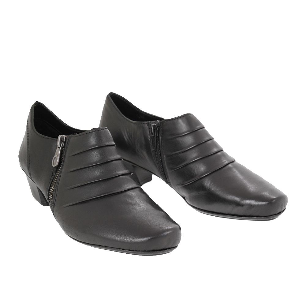 Dámské boty Rieker 53871-01 Černá kůže/syntetika