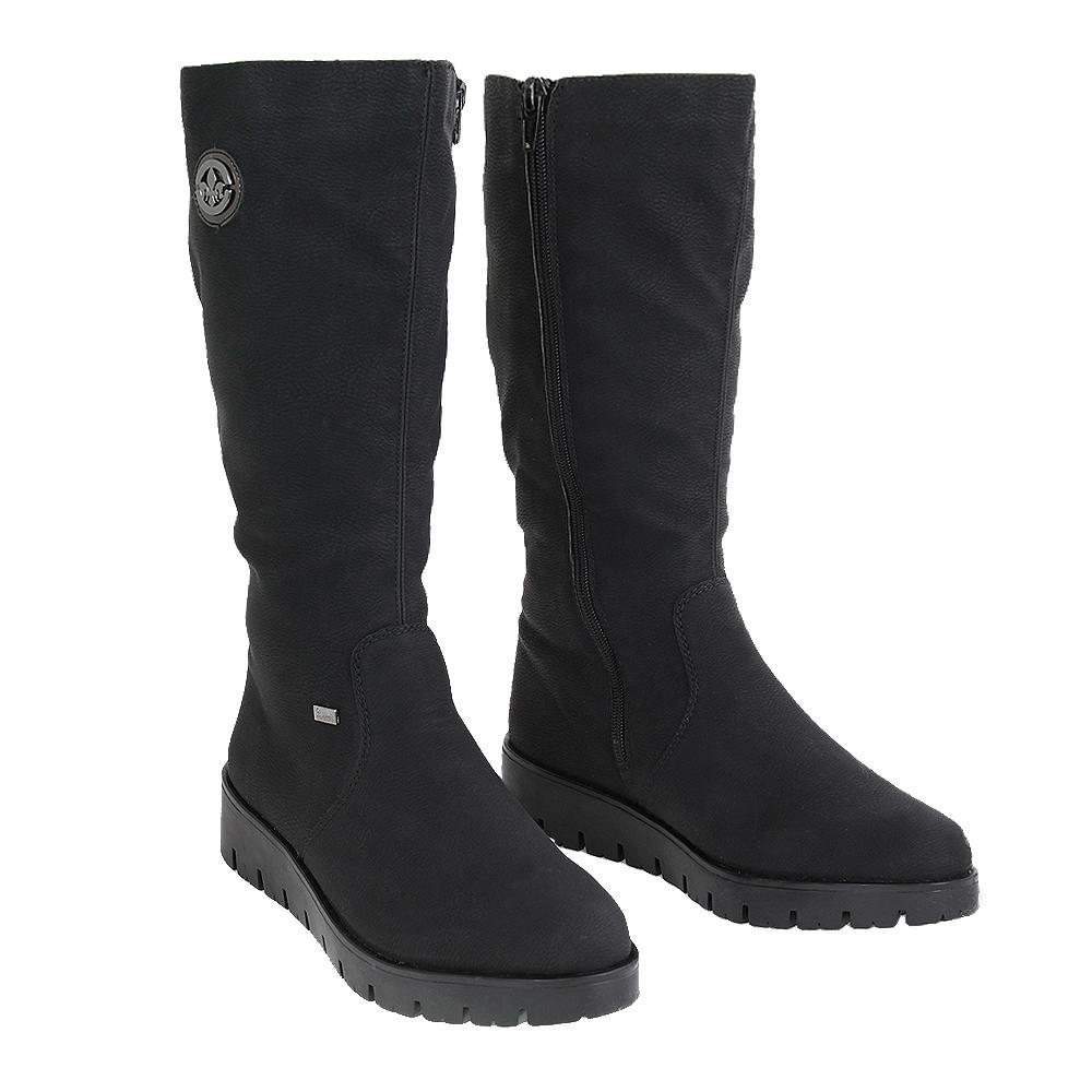 Dámské boty Rieker X2370-00 Černá Syntetika