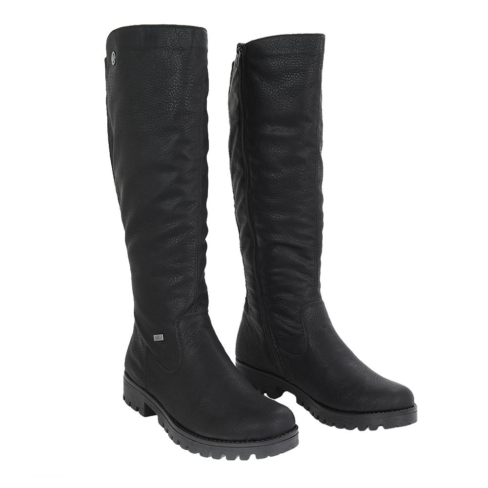 Dámské boty Rieker 78554-00 Černá Syntetika