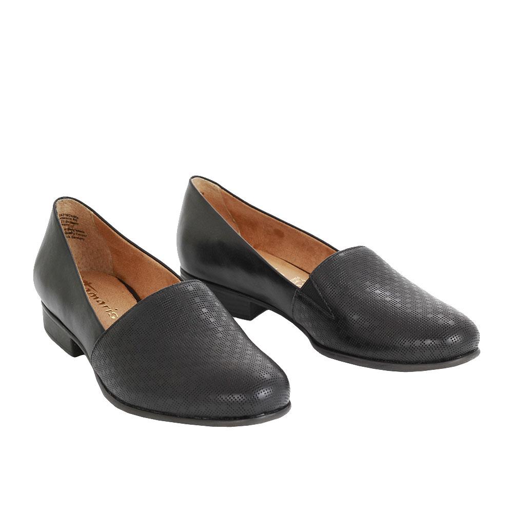 Dámské boty Tamaris 1-24216-24 Černá Kůže