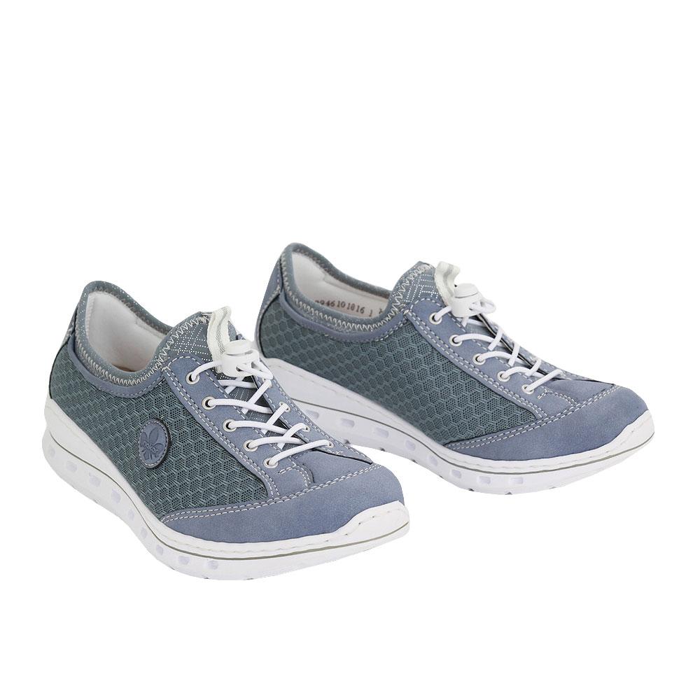 Dámské boty Rieker L22M6-14 Modrá Syntetika